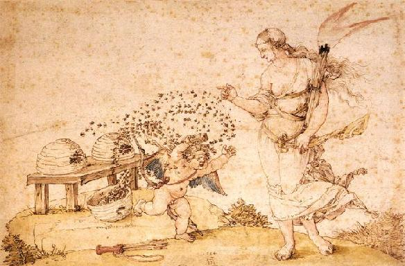 1514. Pen and ink and watercolour on paper. 22 x 31 cm. Kunsthistorisches Museum, Vienna.