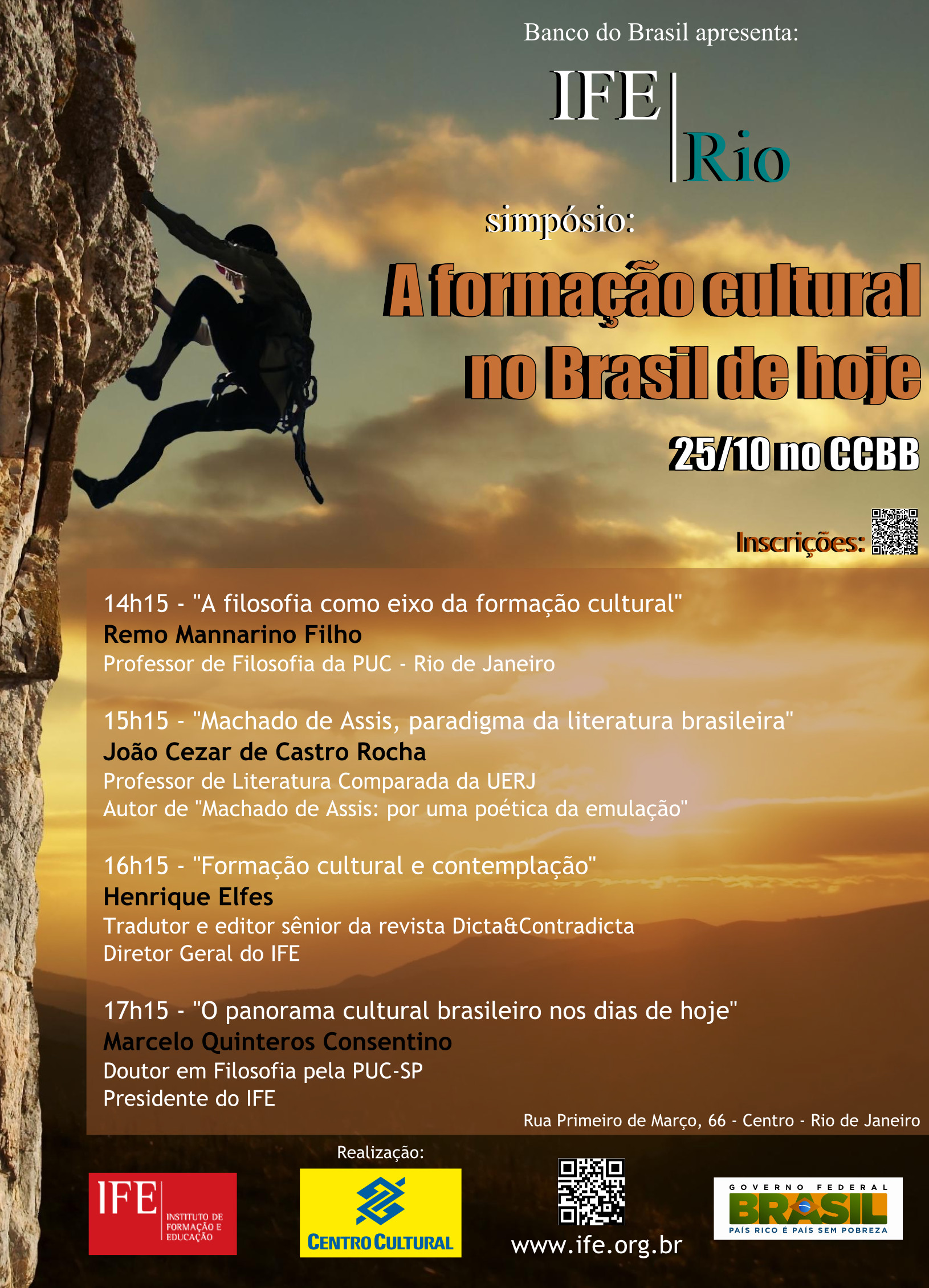Cartaz Evento CCBB